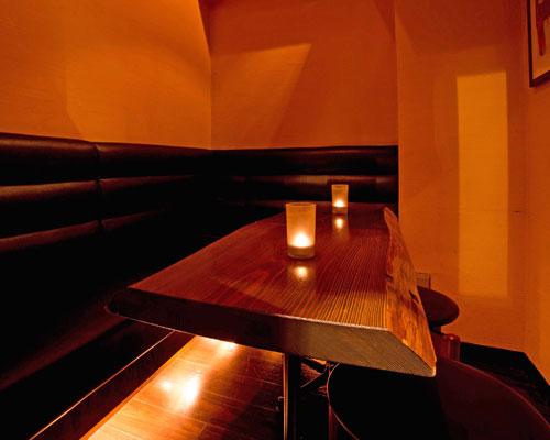 プライベートな空間で寛げる完全個室